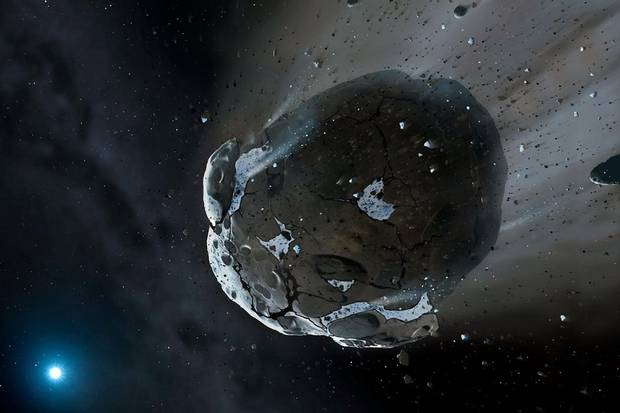 Mountain-sized asteroid headed towards Earth
