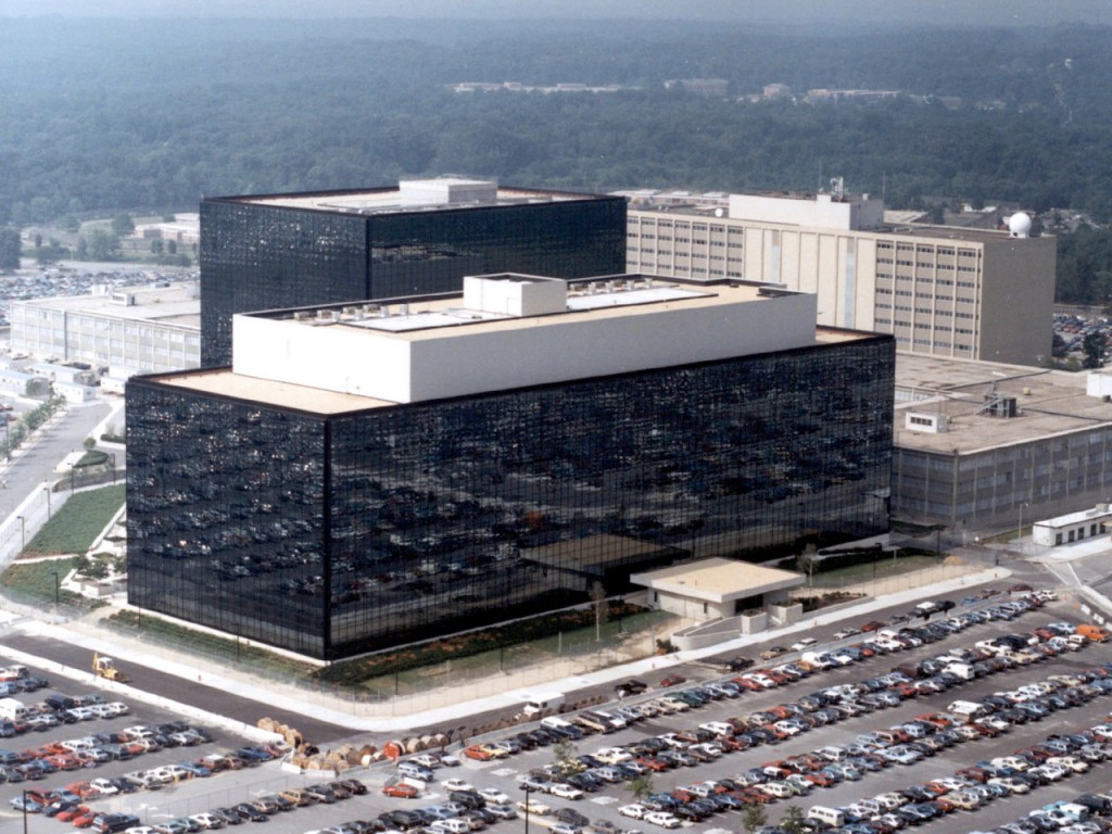 The NSA Headquarters in FT.Meade