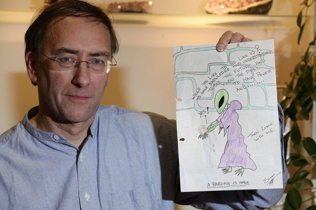 Recent Alien News: Whitby councillor claims aliens are influencing President Putin's actions in the Ukraine conflict