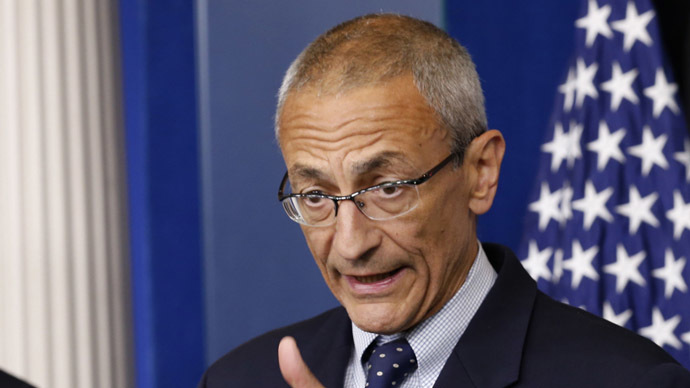 White House senior counselor John Podesta ~ a man in the know!?
