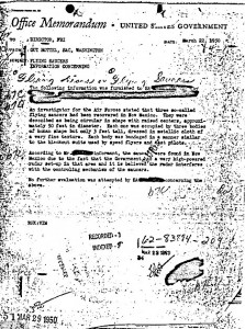 The memo that 'proves aliens landed at Roswell'… released online by the FBI