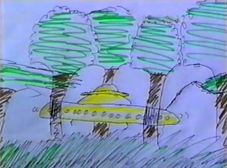 One of the drawings off the children