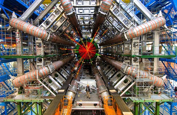 The LHC - Discovering how to travel the stars!?