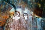 50,000 year old paintings of 'Aliens'