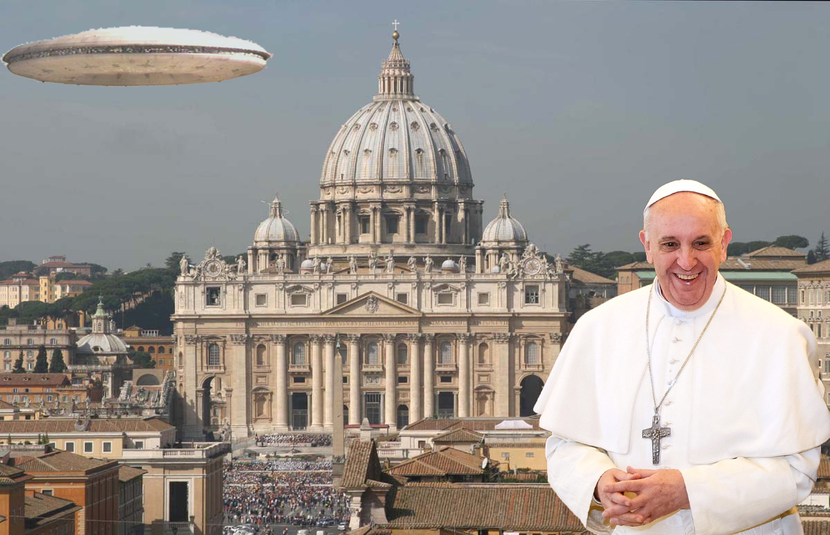 The Pope Is To Declare Quot The Aliens Are Coming Quot Apparently