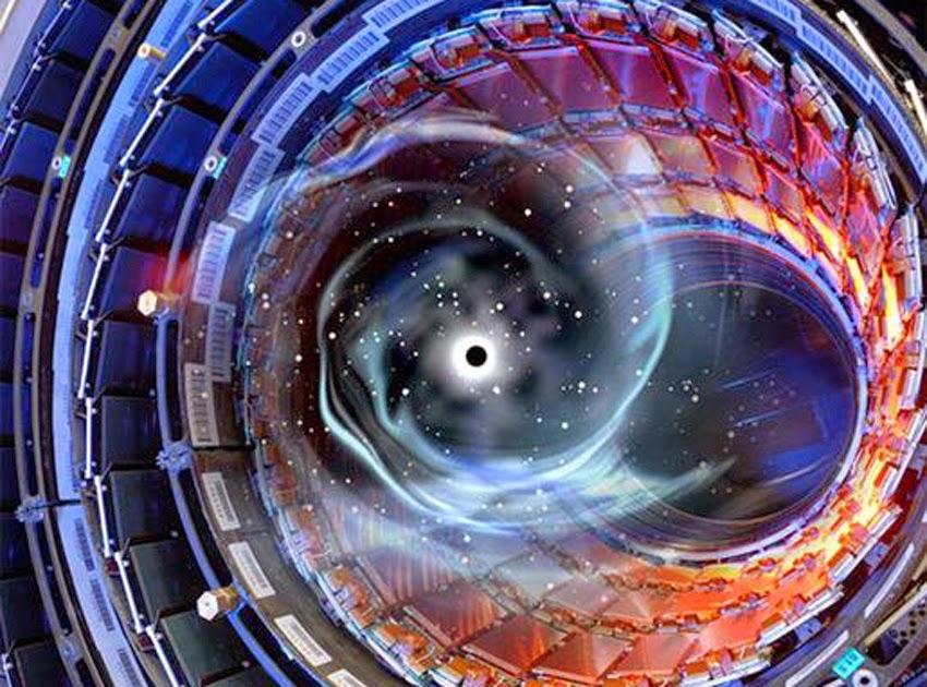Risultati immagini per lhc, wormhole
