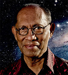 Astrobiology professor Chandra Wickramasinghe