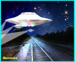 When Train Meets UFO – Kentucky, January 2002