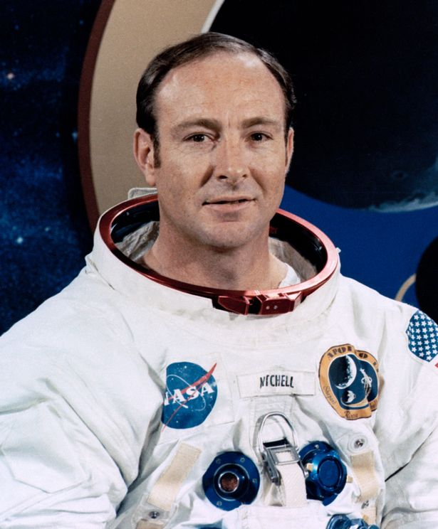 Edgar Mitchell in his youngers days as an Astronaut - A man in the know?!