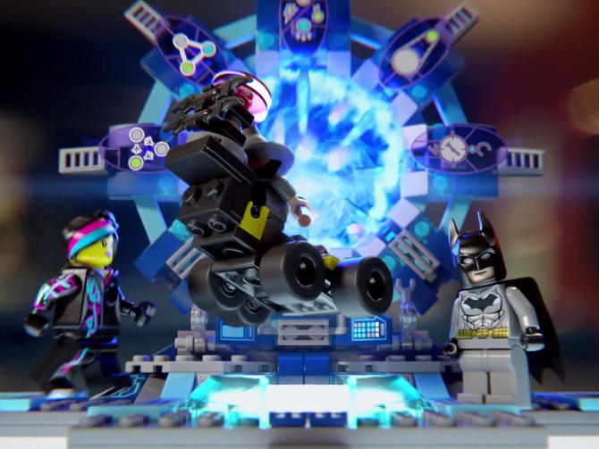 LEGO Dimensions - Looking very much like the large hadron collider (LHC).