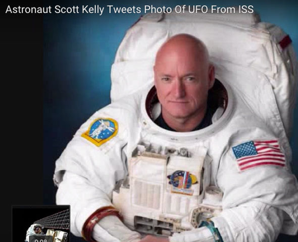 Scott Kelly - A man in the know?