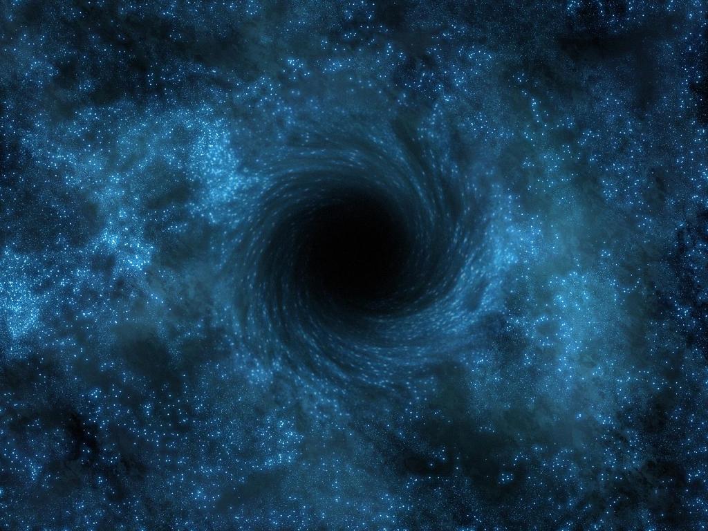 Poderia ser que blackholes são extremamente importantes para antigos avançada Alien Bine