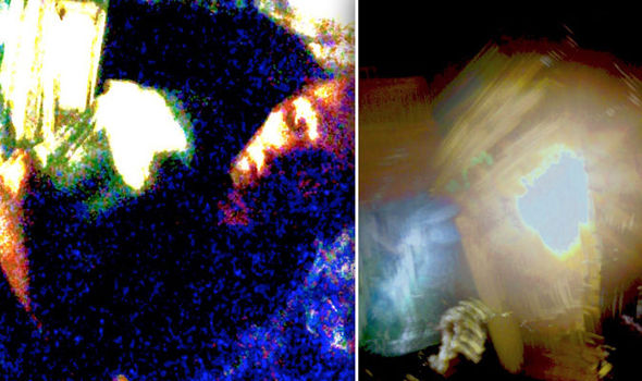 """The woman claimed these images appeared on her phone after the """"abduction"""""""
