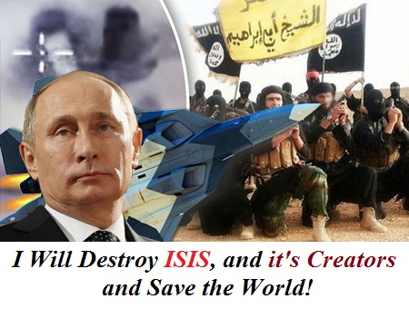 Russia has also accused the west of creating the Islamic State!